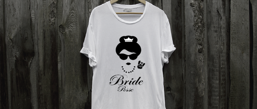 bridal party t-shirts