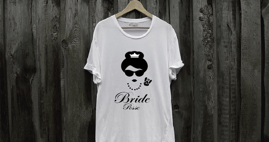 bridal party t-shirts