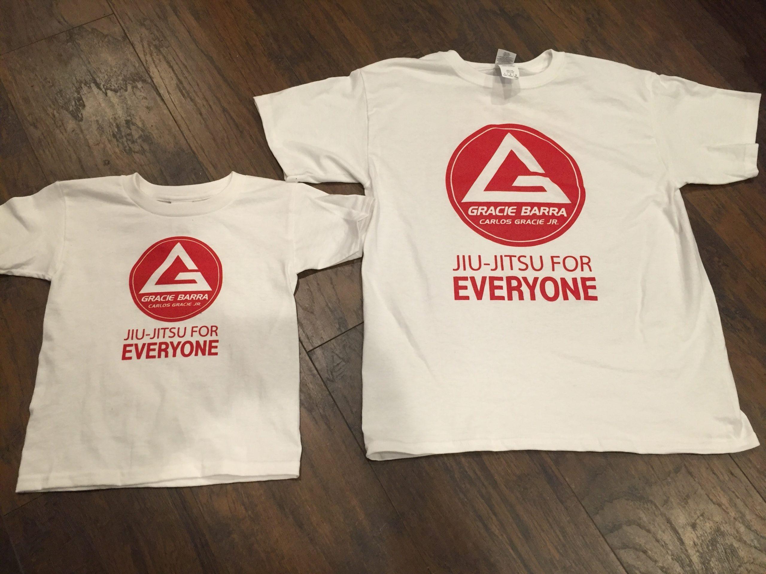 Gracie Barra Promotional T-Shirts