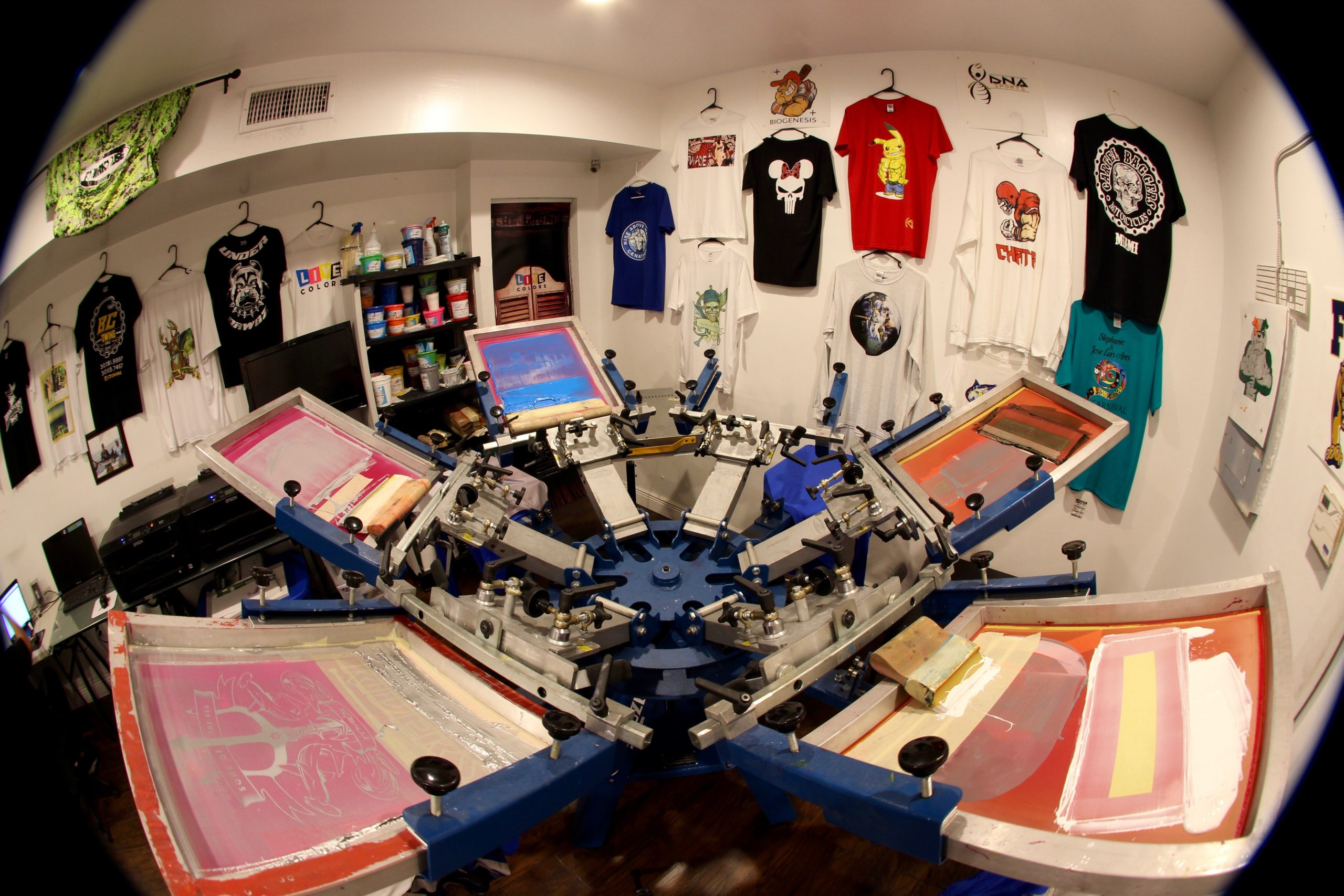 Customize your own t-shirt on our new system
