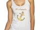 Bride, Maid of Honor, Bridesmaids T-Shirts Nautical Theme