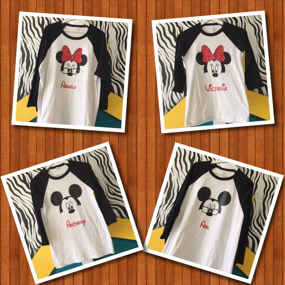 Disney Custom T-Shirts