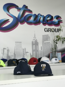 Custom hats that are embroidered with fine stitching